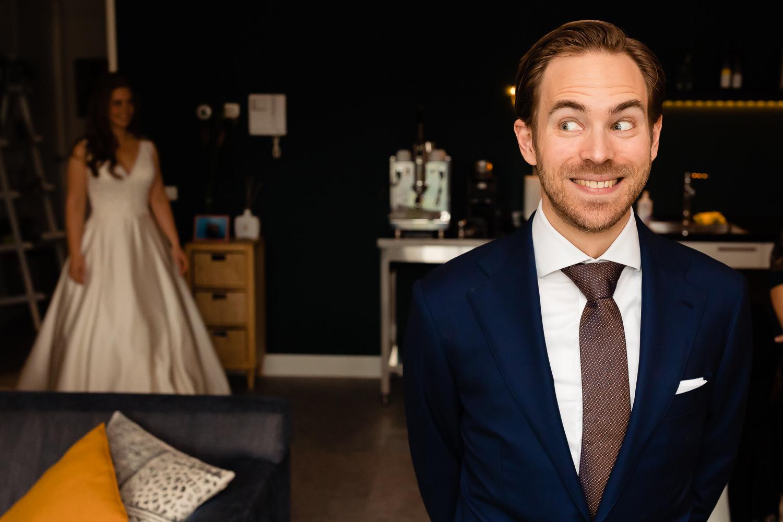 First look bruidspaar