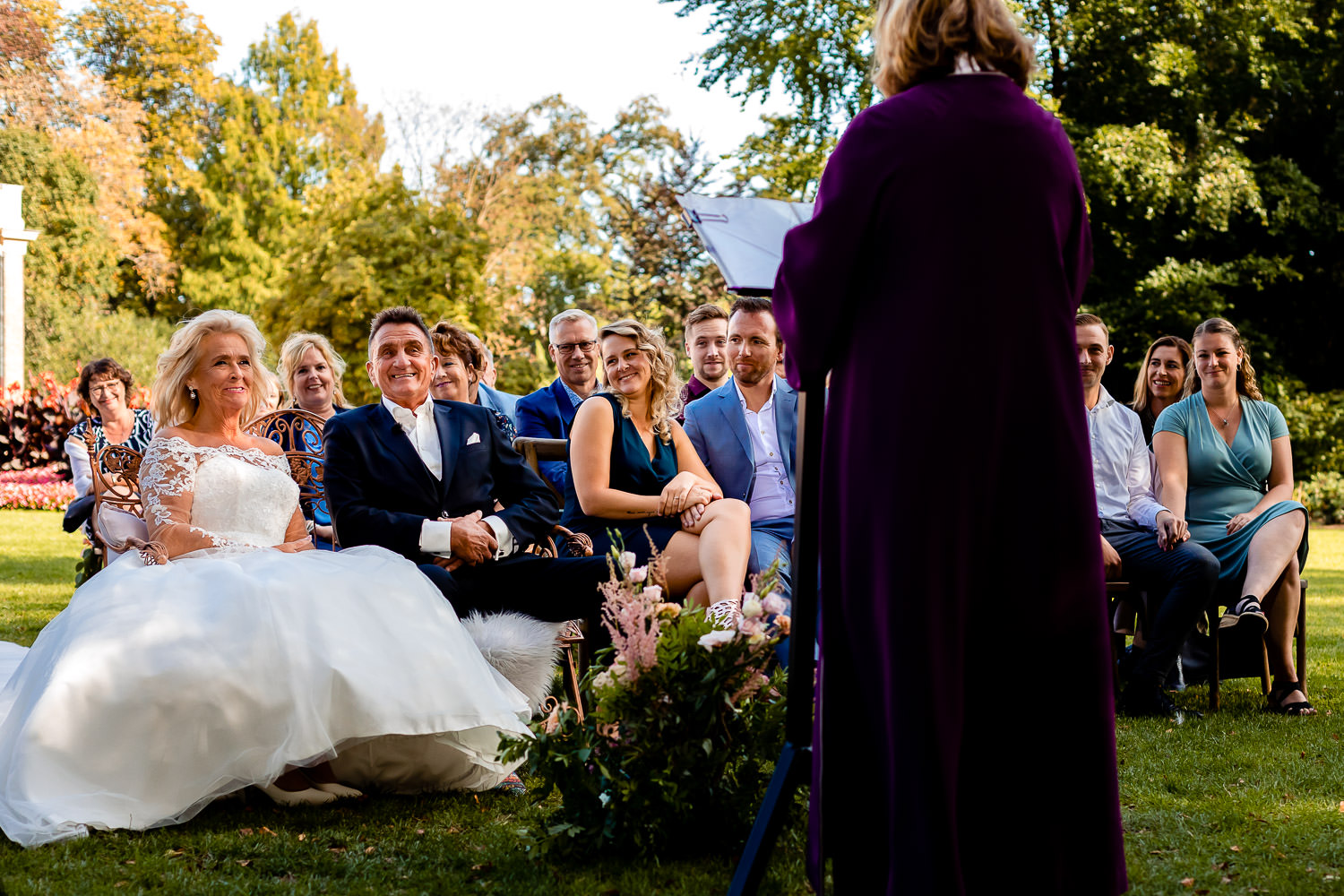 Huwelijksceremonie Married At First Sight van Sylvia & Freddy